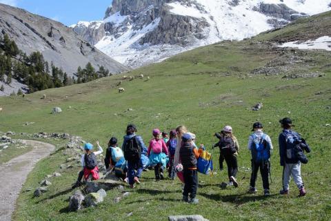 Sortie pédagogique du 10 mai, classe CP-CE1  de Savines-le-lac, ©MireilleCoulon