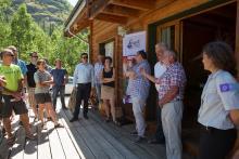 Lancement marque Esprit parc national dans les Ecrins - 9 juillet 2015 - © P.Saulay - Parc national des Ecrins