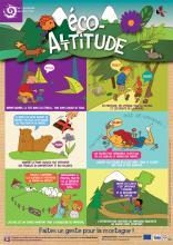 Eco-altitude : Les bonnes attitudes pour découvrir le Parc national l'été  © Parc national des Ecrins