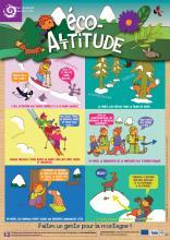 Eco-altitude : Les bons comportements à adopter pour pratiquer le Parc l'hiver © Parc national des Ecrins