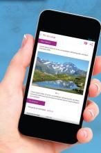 Rando Ecrins - application mobile - Parc national des Ecrins