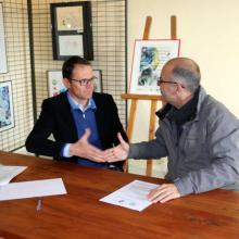 Signature convention PNE/EDSB - décembre 2016 -© Parc national des Écrins