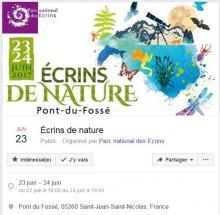 Visuel Ecrins de nature © Création Régis Ferré - Parc national des Ecrins