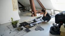 Plantons de l'art - juin 2017 - collectif résidence Roulotte bleue et Serre l'ez'Arts