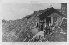 Carte postale ancienne - Refuge du pas de l'Olan
