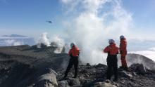 Expédition vers les volcans Arctiques