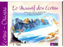 Livre  aquarelle Alexis Nouailhat - massif des Écrins