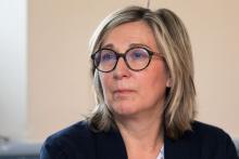Anne-Marie Forgeoux, maire du Monêtier-les-Bains - conseillère régionale - Conseil d'administration du Parc national des Ecrins - 30-11-2018 photo P.Saulay - Parc national des Ecrins