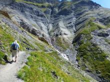 Chemin des crevasses © Parc National des Ecrins