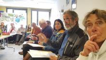 Ecrins de nature - réunion d'organisation avec les partenaires en Vallouise - avril 2019 - © C.Gondre - Parc national des Écrins