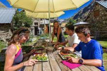 Refuge de la Lavey - Tour gourmand - © B.Bodin - Parc national des Ecrins