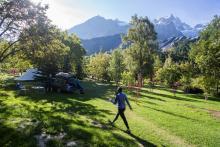 Camping de la Meije - photo Rondeau Emmanuel - Parc national des Ecrins