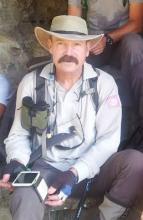 Daniel Fougeray, technicien patrimoine du Parc national des Ecrins