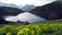 Le lac Gary ©Bernard Nicollet - Parc national des Ecrins