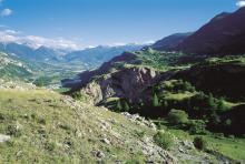 Gourfouran, Champcella et la vallée de la Durance © Stephane D'houwt - Parc national des Ecrins