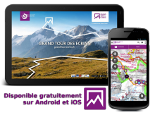 Application mobile Grand tour des Ecrins