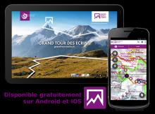 Application mobile Grand tour des Ecrins