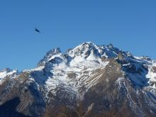 Avion militaire - © H-Quellier- Parc national des Ecrins