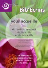 Affiche Bib Ecrins - Anne Lise Macle - Parc national des Ecrins