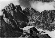 Refuge de l'Olan (2ème refuge emporté plus tard par une avalanche) - coll. du CAF de Gap