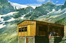 Ancien refuge du Pigeonnier - carte postale - Parc national des Ecrins