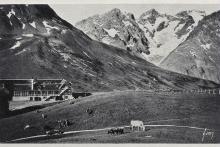 Le Lautaret, châlet P.-L.-M. et La Meije - collection Parc national des Ecrins
