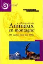 Guide de terrain - Parc national des Ecrins - animaux en montagne