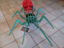 Maquette araignée - Jeunes découvreurs-Chauffayer-insectes-Parc national des Ecrins-©DR