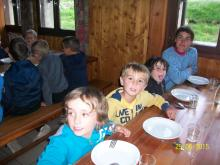 au refuge - - école savines - juin 2015