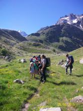 Jour 2 sortie refuge alpe de villar d'arène - école savines - juin 2015