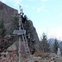 Station météorologique du Lauvitel ©J. Foret - Parc national des Ecrins