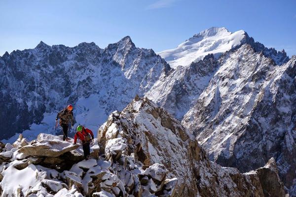 Programme écologie verticale - Parc national des Ecrins - © Fabien Berrod