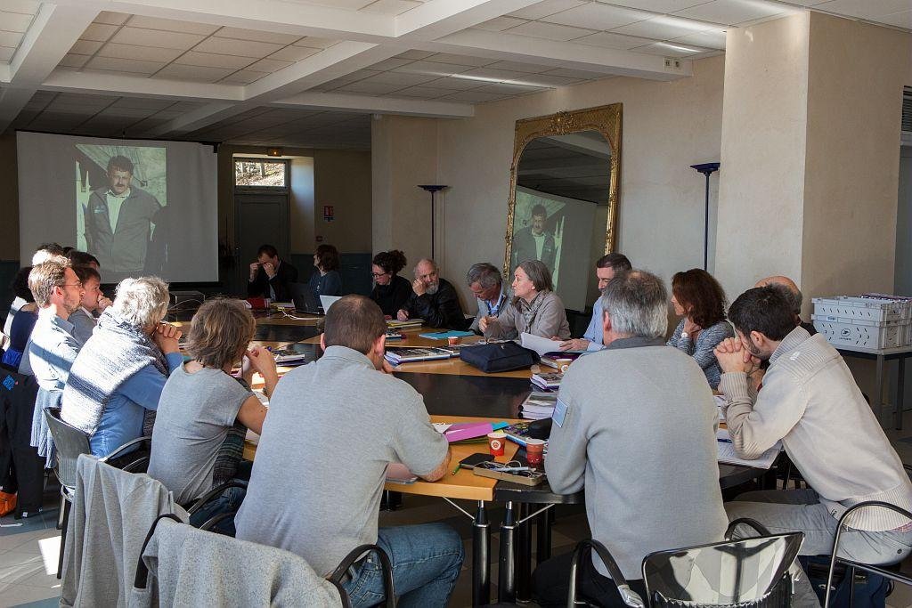 Hommage à Serge Aubert au Conseil scientifique du Parc national des Ecrins © Pascal Saulay /PNE