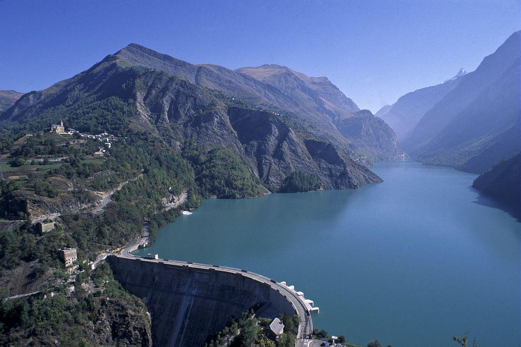 Lac du Chambon - photo JP-Nicollet - Parc national des Ecrins