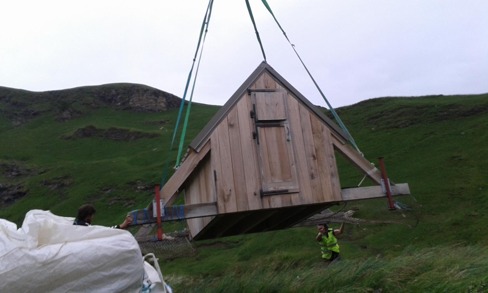 hélportage cabane de la terce juin 2015 - photo DR