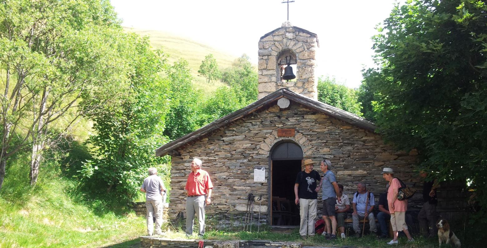 La chapelle Saint-Roch @ Marianne Benoit - Parc national des Ecrins