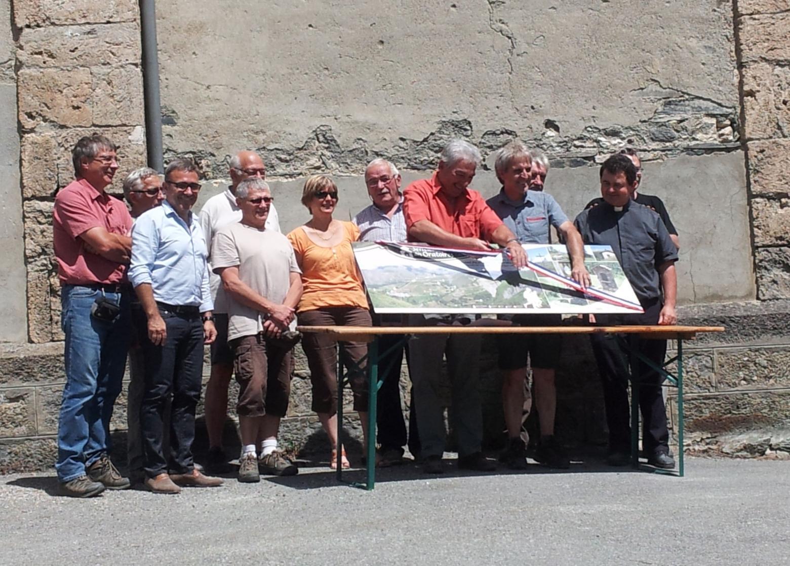 Inauguration du sentier @ Marianne Benoit - Parc national des Ecrins