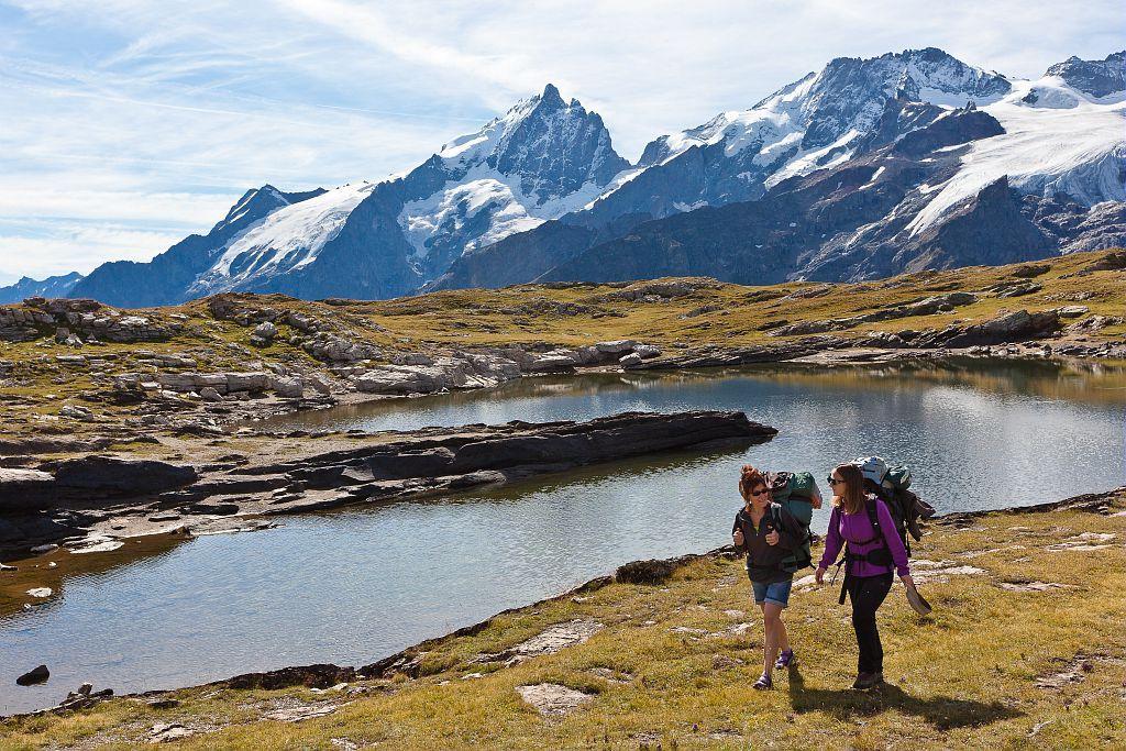 Lac Noir, plateau d'Emparis - photo Bertrand Bodin - Parc national des Ecrins
