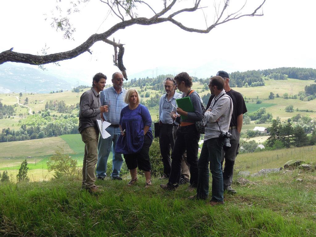 Atelier Paysages - Puy Saniières - juin 2014 © F.Sabatier - Parc national des Ecrins