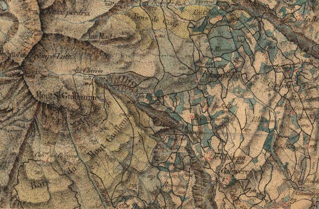 Carte d'état major 1830