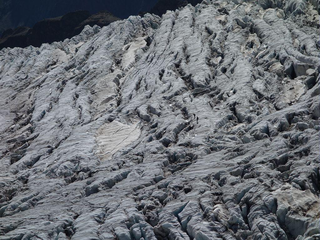 Alpinisme - Crevasses glacier Blanc © T.Maillet - Parc national des Ecrins