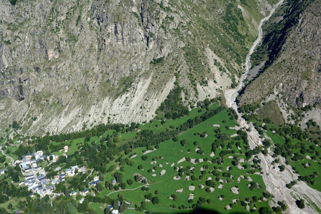 Vallon de la laisse Col de cote Belle sud © Bernard Nicollet - Parc national des Écrins