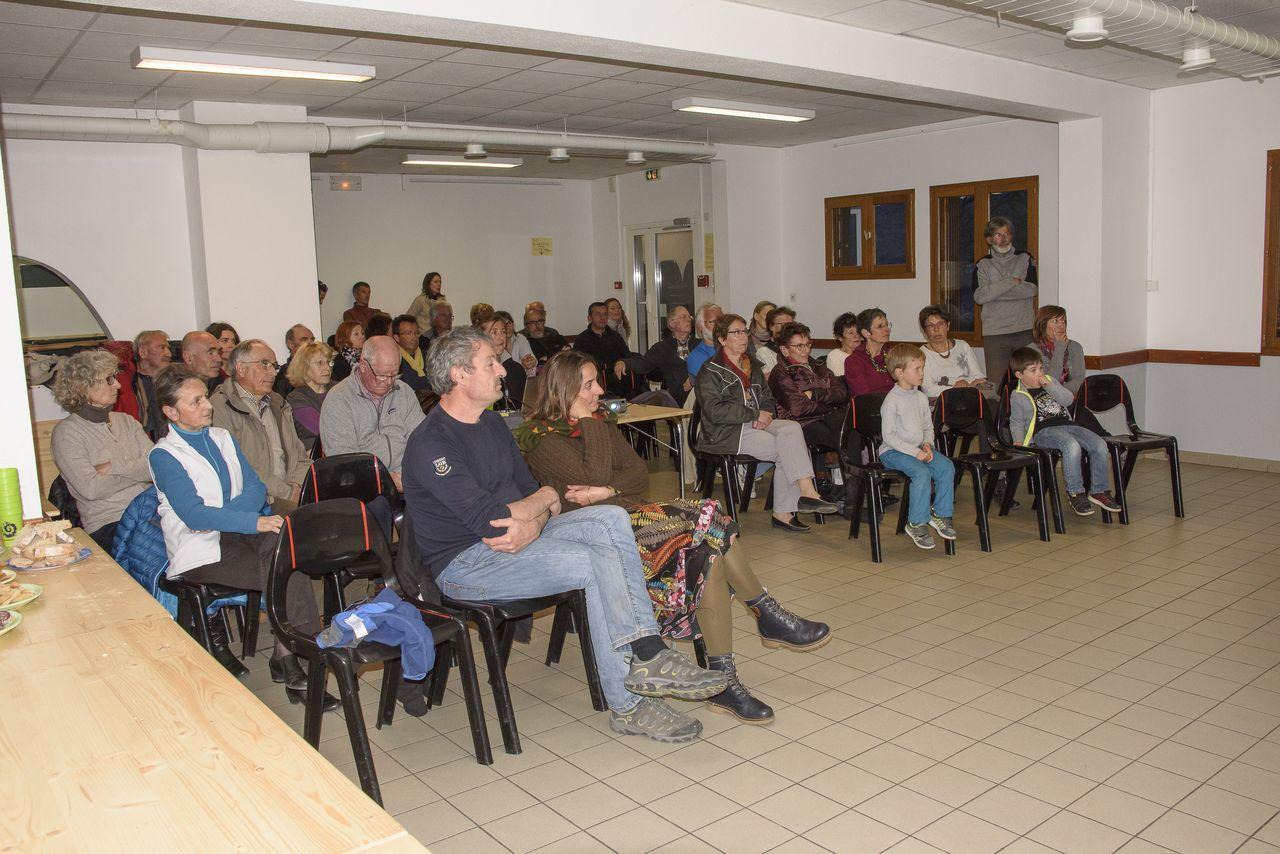soirée valléenne - Embrunais - Puy sanières et Puy St Eusèbe - mars 2017