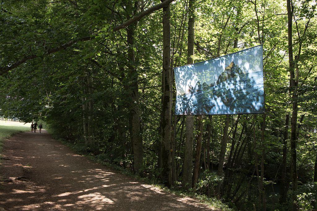 expo paysages des Ecrins - Grands formats à charance - ETE 2017