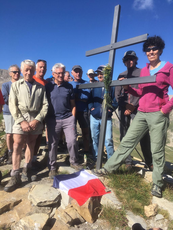Inauguration croix lorraine - photo R Papet - PNE