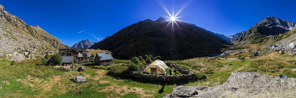 Refuge La Lavey - © Bertrand Bodin - Parc national des Ecrins