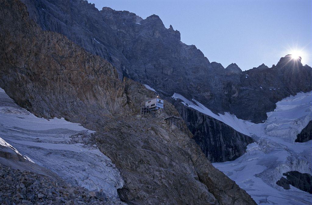 Le refuge du Promontoire - © D.Fiat - Parc national des Ecrins