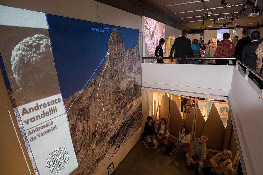 Inauguration exposition Les îles du ciel - 6 octobre 2017 - muséum de Grenoble - © P.Saulay - Parc national des Ecrins