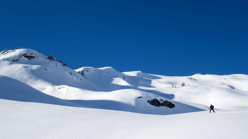 Ski de randonnée - © T.Maillet - Parc national des Écrins