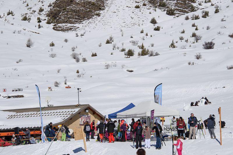 Neige pour tous à Crévoux - © M.Coulon - Parc national des Écrins